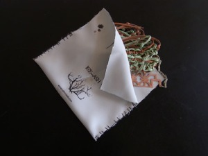 silver polishing cloth with care instructions