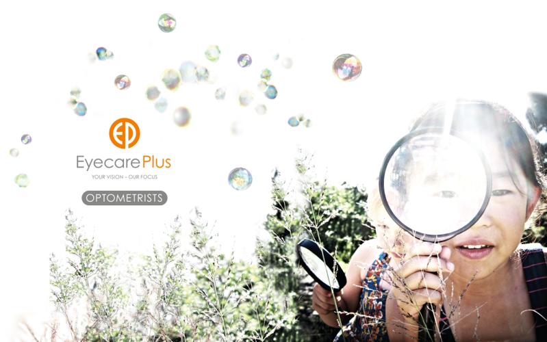 Eyecare Plus: Retail Signage _ Cabinet