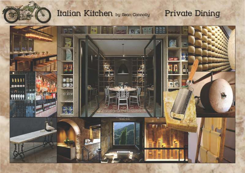 Sean Connolly's  Italian Kitchen _ Private Dining